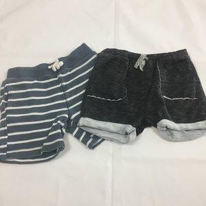 (4-007) Lot of 2 Shorts Crewcuts Zara Kids 3T